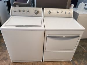 Whirlpool top loads washer and gas dryer for Sale in Houston, TX