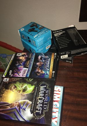 Earbuds + PC Games Combination for 200!!!! for Sale in Archdale, NC
