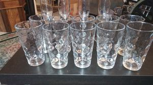 Glasses set 10 pieces and four wine cups for Sale in Alexandria, VA