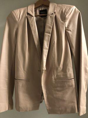 Genuine light pink leather blazer for Sale in San Diego, CA
