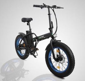 "20"" 500W Lithium Battery Folding Electric Bicycle e-Bike Fat tire Pedal Assist for Sale in San Francisco, CA"