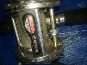 Fishing reel and rod for Sale in Houston, TX