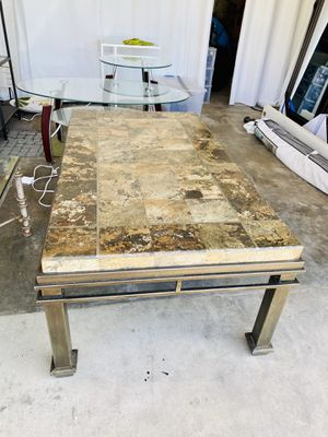 Solid Beautiful Stone Coffee Table. (Indoor or Outdoor use) for Sale in San Diego, CA