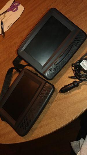 Rca portable headrest DVD players for Sale in Thompson, IA