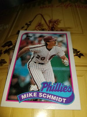 49 cards Mike schmidt, Phillies 1989 for Sale in Kutztown, PA