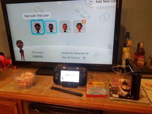 Wii U Bundle for Sale in Watson, IN