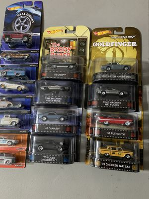 Hot wheels pop culture real riders lot for Sale in North Las Vegas, NV