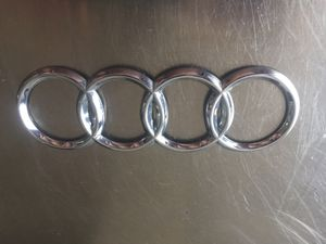 AUDI Front Grill or Rear Trunk Logo Badge Emblem for Sale in Silver Spring, MD