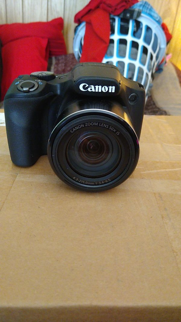 Canon PowerShot digital camera.