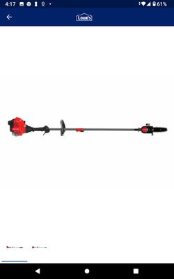 Craftsman gas pole saw ( new just has chip) for Sale in Las Vegas,  NV