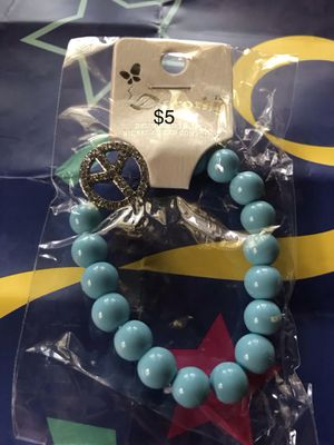 Charm bracelets with peace sign for Sale in Detroit, MI