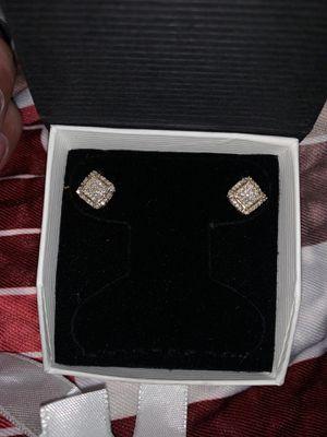 Si diamond earrings for Sale in Laurel, MD