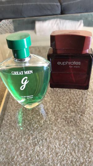 GREAT MEN 3.4 oz and EUPHRATES for men 90 ml for Sale in San Marcos, CA