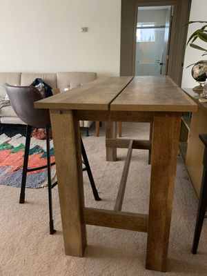 FREE counter height dining room table + 4 bar stools for Sale in San Francisco, CA