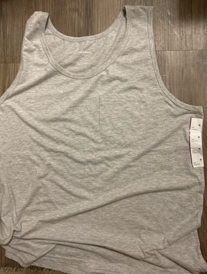Tank top gray for men size XL for Sale in Covina, CA