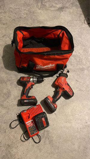 Milwaukee combo M18 Drill & Saw Zaw package for Sale in Magnolia, TX
