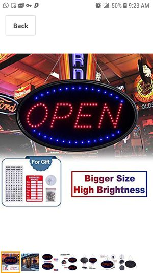 *Open Sign Large for Sale in Queens, NY