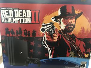 PlayStation 4 pro 1tb red dead redemption 2 edition mint for Sale in Bainbridge Island, WA