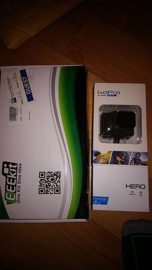 GoPro Hero and Accessories + 4gb microsd for Sale in Orange, CA