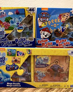 Kids Games And Puzzles Bundle for Sale in Bellevue,  WA