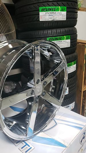 20 inch 5x112 Brand new chrome Rims for Sale for Sale in Chicago, IL