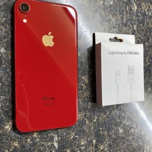 iPhone Xr Red 64GB Tmobile /Metro/Simple Mobile/Sprint✅Price firm✅ for Sale in Chicago, IL