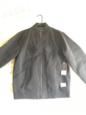 Men's bomber style jacket size medium brand new for Sale in Gunpowder, MD