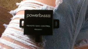 Powerbass remote gain control for Sale in El Cajon, CA