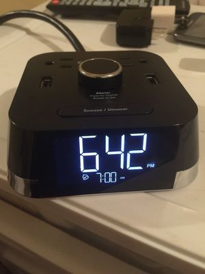 Cubie Time Alarm clock with usb charging. for Sale in Decatur, GA
