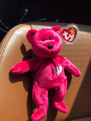 Valentina beanie baby with tag errors mint condition very rare!!!!! for Sale in Davidsonville, MD