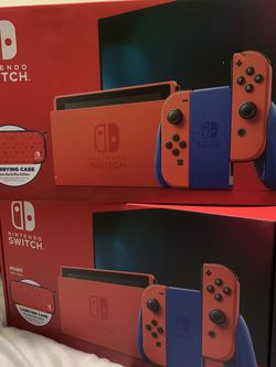 2 Nintendo Switch Mario Red & Blue Edition for Sale in Vancouver,  WA