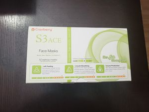 CRanberry S3 Ace Face masks level2 for Sale in Arlington Heights, IL