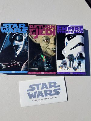 Star wars VHS for Sale in Sanger, CA