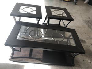 Coffee and two end tables for Sale in Stockton, CA