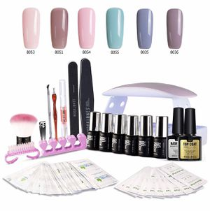 Used, Gel Nail Polish Kit With LED Lamp for Sale for sale  Queens, NY
