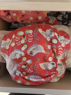 Reusable newborn diapers for Sale in Weatherford, TX