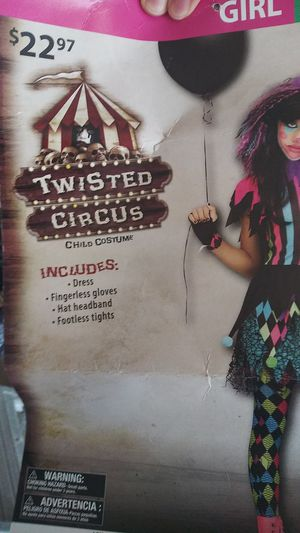 Girls clown costume for Sale in Palatine, IL