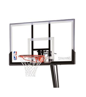 """Spalding NBA 54"""" Portable Angled Basketball Hoop for Sale in Sanger, CA"""
