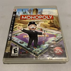 Monopoly For PlayStation 3 PS3 No Manual Video Game for Sale in Camp Hill, PA