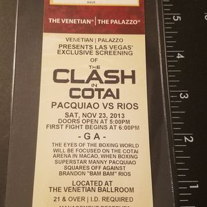 PACQUIAO BOXING Ticket for Sale in Artesia, CA
