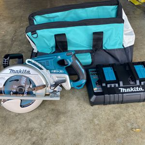 18-Volt X2 LXT Lithium-Ion (36-Volt) Brushless Cordless Rear Handle 7-1/4 in. Circular Saw With charger and bag for Sale in National City, CA