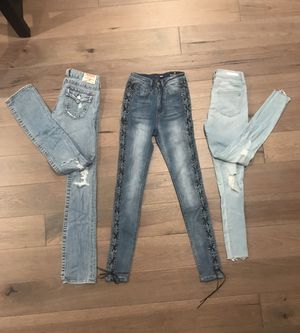 DENIM JEANS for Sale for sale  Pleasanton, CA