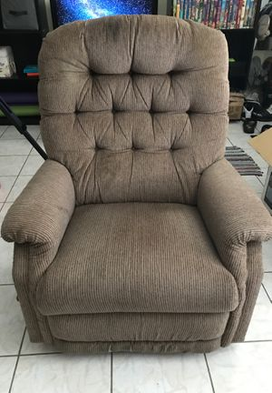 Great condition fabric rocking recliner for Sale in West Palm Beach, FL