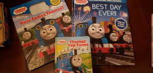 Thomas train books and hats and toys for Sale in Gaithersburg, MD