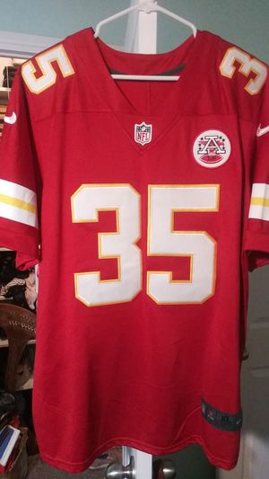 Christian Okoye Autographed Chiefs Jersey Size XL for Sale in Sandy, UT