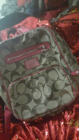 Authentic Coach Back pack for Sale in Amarillo, TX