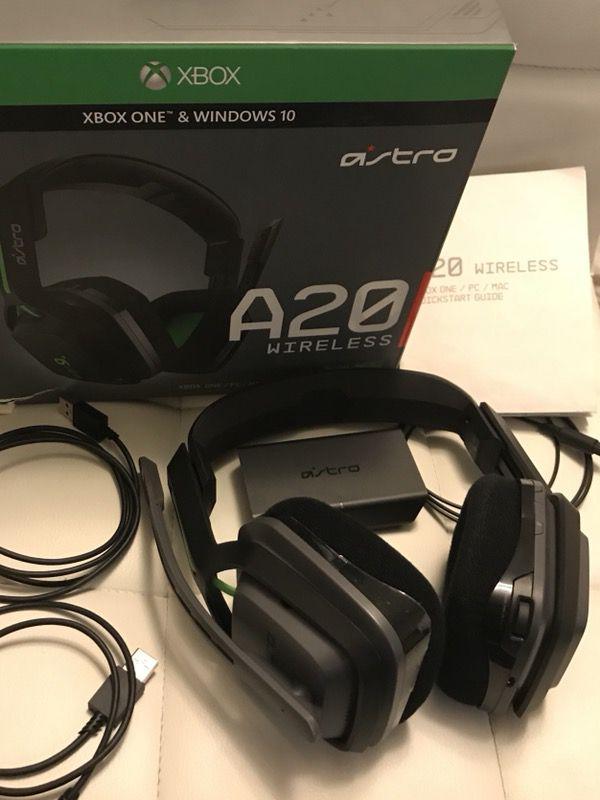 A20 wireless gaming headphone