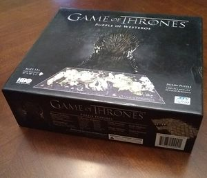 Game of Thrones 4D Puzzle of Westeros 3D 4D New for Sale in Cedar Park, TX