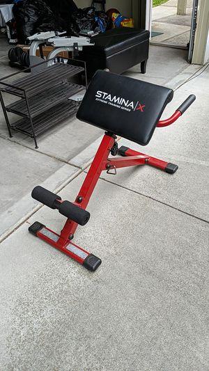 Stamina Hyper bench, Red for Sale in Santa Clara, CA