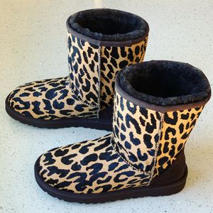 Women's UGG Calf Hair Leopard Boots Size 6 for Sale in Lombard, IL